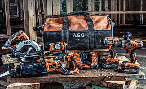 AEG POWERTOOLS BS18G2